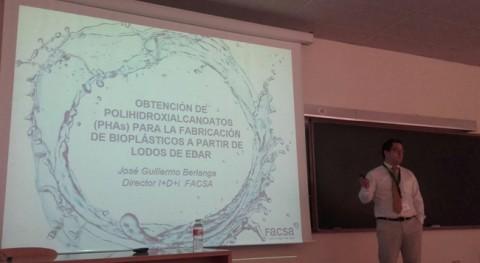 FACSA explica Santander proyecto que generará bioplásticos partir lodos EDAR