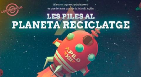Cerca millar escuelas catalanas se inscriben tercer concurso recogida pilas