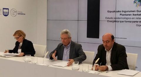 Gipuzkoa realizará estudio epidemiológico planta valoración energética