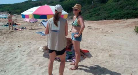 Baleares informa bañistas abandono residuos playas naturales