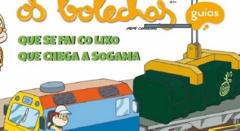Os Bolechas explican escolares actividad industrial Sogama