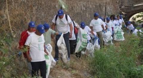 """""""Limpiemos Nuestro México"""": Más 91.000 brigadistas recogen 5.000 toneladas residuos"""