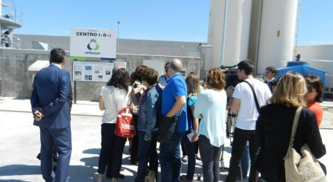 Inauguración laboratorio I+D+i Complejo Tratamiento Residuos Urbanos Zaragoza
