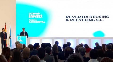 Revertia recibe Premio RSE Galicia gestión sostenible residuos