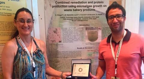 Premiada investigación producción proteínas partir microalgas