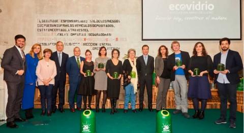 XIX edición Premios Ecovidrio reconoce sostenibilidad y sensibilización ambiental