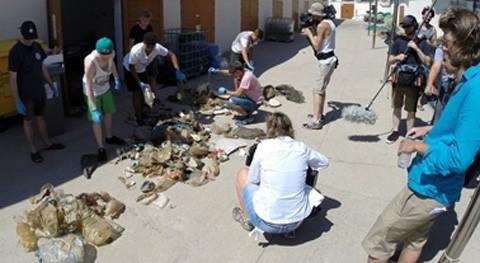 televisión pública alemana se interesa proyecto Marviva caracterización basuras