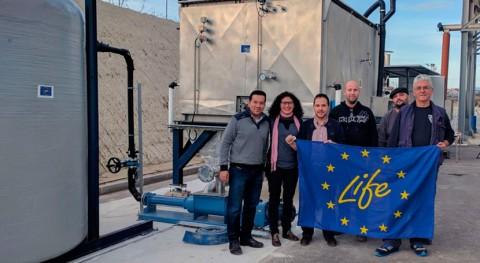 Life Anadry: prototipo innovador maximizará producción biogás EDAR Alguazas