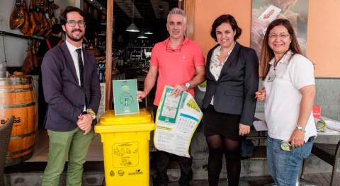 marcha proyecto reciclaje establecimientos turísticos Puerto Cruz