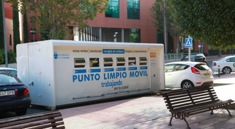 Punto Limpio Alcobendas recoge más 1.000 kilos papel y 6.600 vidrio 2015