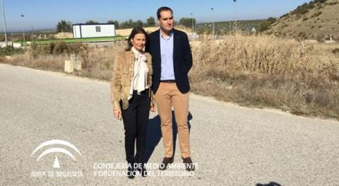 Gobierno andaluz licita obras construcción punto limpio municipio Arjona