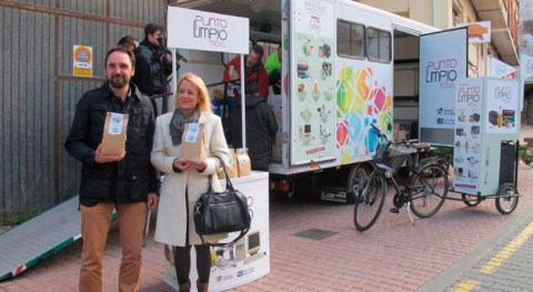 Rioja promueve recogida residuos domésticos especiales través Punto Limpio Móvil