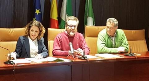 gestión Punto Limpio Nueva Carteya, manos Epremasa