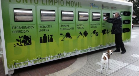puntos limpios móviles Santander recogieron 41.000 kilos residuos primer semestre