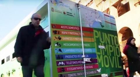 puntos limpios móviles Santander recogieron 76.130 kilos residuos domésticos 2017
