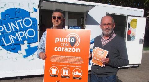 Logroño amplía servicio recogida ropa través puntos limpios móviles