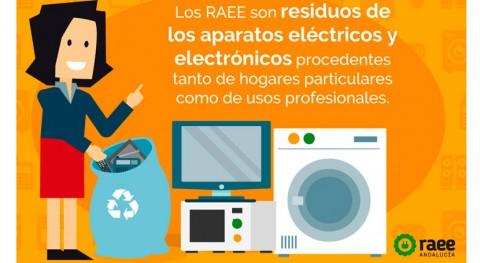 Mancomunidad Comarca Écija firma convenio marco reciclaje RAEE