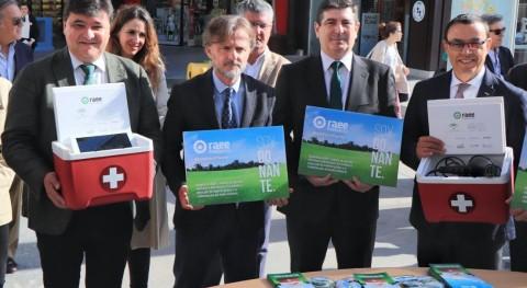 """campaña """"Dona vida al planeta"""" recoge más 12 toneladas RAEE Andalucía"""