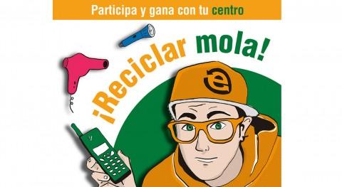 """campaña """"Otro Final es Posible' conciencia reciclaje aparatos eléctricos"""