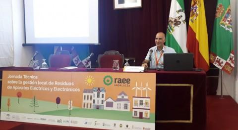 Andalucía da conocer importante papel administración local gestión RAEE
