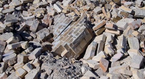 gestión residuos construcción Cataluña cae 71% seis años