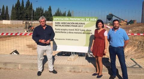 Lopera, Begíjar y Carboneros contarán puntos residuos construcción y demolición