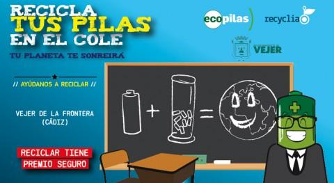 Si reciclas tus pilas cole… planeta sonríe