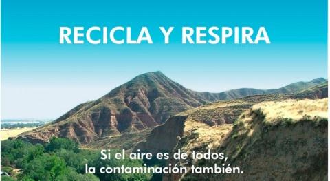 """campaña informativa """"Recicla y Respira"""" llega calles Alcalá Henares"""