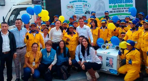 organización recicladores Popayán recibe primera vez pago oficial servicios