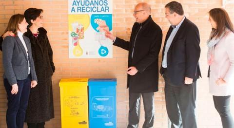 Pozuelo comienza campaña facilitar y fomentar reciclaje colegios
