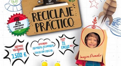 118 trabajos concurren al concurso escolar reciclaje práctico Promedio