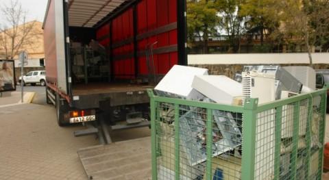 Universidad Huelva inicia campaña reciclaje material informático