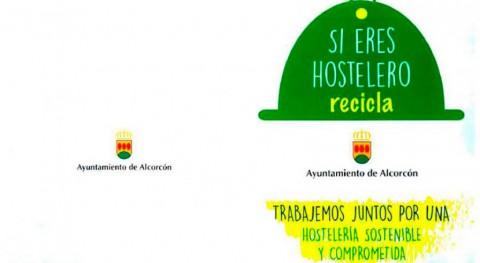 Alcorcón incentiva hosteleros reciclar vidrio