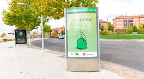 marcha campaña promover reciclaje vidrio Boadilla Monte