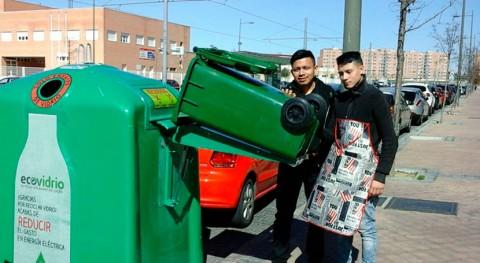 Parla incrementa 23% reciclaje vidrio últimos 6 meses