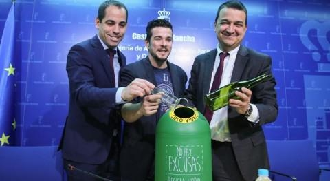 Castilla- Mancha lanza campaña promover reciclaje cristal hostelería