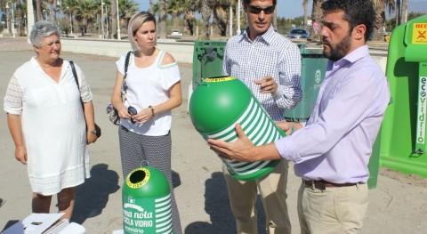 Impulso al reciclaje vidrio Motril durante verano