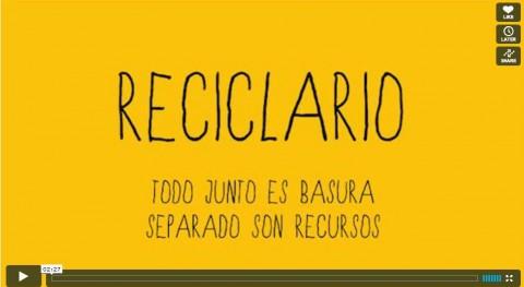 Reciclario, nuevo proyecto separación residuos urbanos Buenos Aires