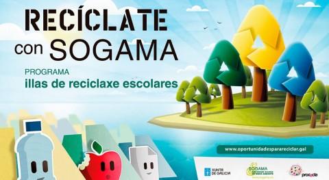 """Cerca 15.000 alumnos han participado """"Recíclate Sogama"""" 5 ediciones"""