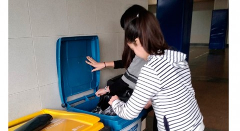 sobresaliente gestión residuos varios colegios participantes Recíclate Sogama