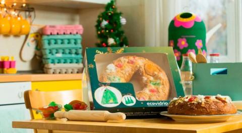 #ReciclaVidrioPorRoscón: Ecovidrio entrega 2.500 roscones personas que reciclen vidrio