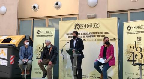 Valencia se convierte ciudad mayor población España implantar RECICLOS