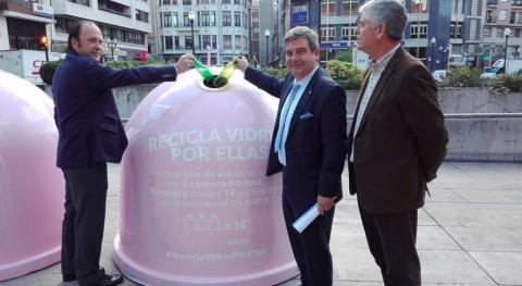 Gijón también 'Recicla Vidrio ellas'