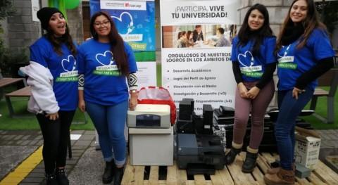 Chilenter e Inacap recogieron más 12 toneladas residuos electrónicos durante reciclatón