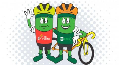 reciclaje pilas lo largo 21 etapas Vuelta España tiene premio