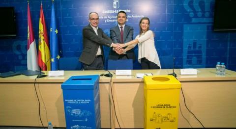 edificios Gobierno Castilla- Mancha contarán contenedores recogida selectiva