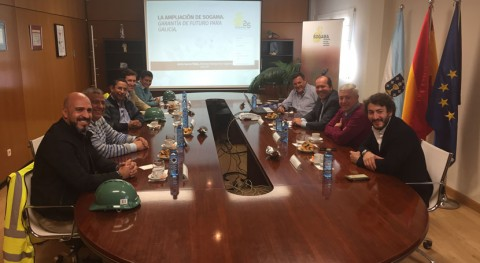 Representantes Antioquia se interesan transporte residuos modelo Sogama