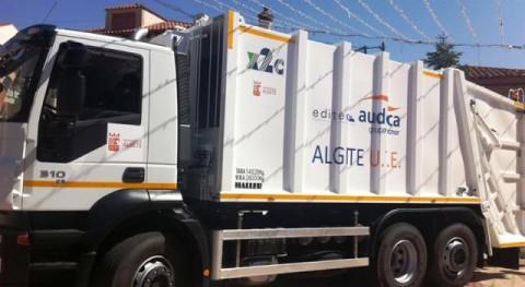 Nuevos camiones servicio recogida residuos sólidos urbanos Algete