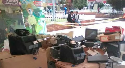 Colombia recoge más 5.300 kilos residuos electrónicos 104 municipios