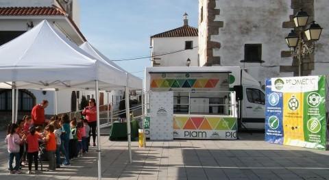 PROMEDIO lanza campaña mejorar reciclaje papel y cartón 26 poblaciones